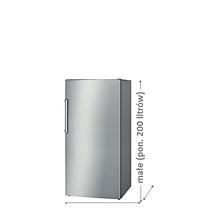 Zamrażarki małe (ponizej 200 litrów)