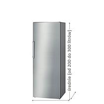 Zamrażarki średnie (od 200 do 300 litrów)